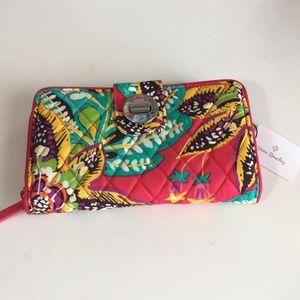 New Vera Bradley RFID Rumba Wallet